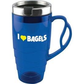 Monogrammed Armadillo Travel Mug
