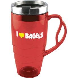 Armadillo Travel Mug with Your Slogan