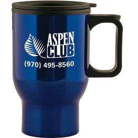 Aspen Stainless Travel Mug (15 Oz.)