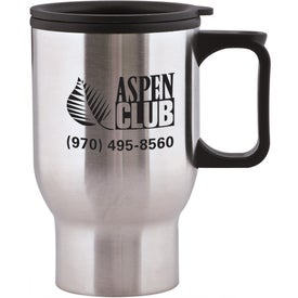 Aspen Stainless Travel Mug for Advertising