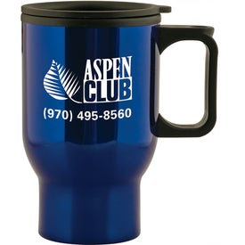 Aspen Stainless Travel Mug (15 Oz.)