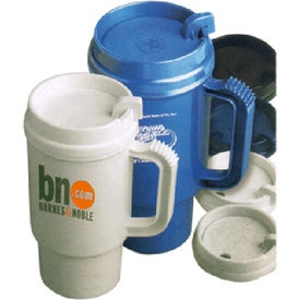 Auto Mate Travel Mug with Thumb Slide Lid Branded with Your Logo