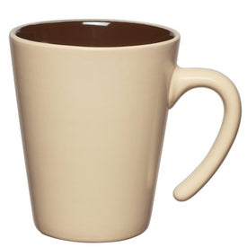 Aztec Open Handle Mug for Advertising