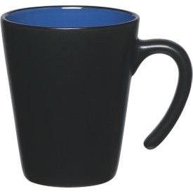 Branded Aztec Open Handle Mug