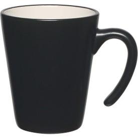 Aztec Open Handle Mug with Your Logo
