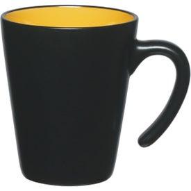 Printed Aztec Open Handle Mug
