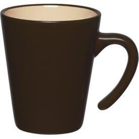 Customized Aztec Open Handle Mug