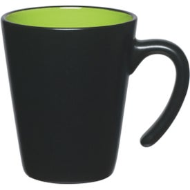 Aztec Open Handle Mug Printed with Your Logo