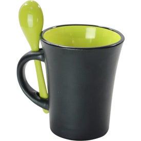 Personalized Aztec Spooner Mug