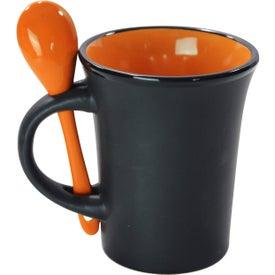 Branded Aztec Spooner Mug