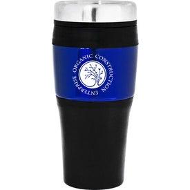 Branded Banded Travel Mug