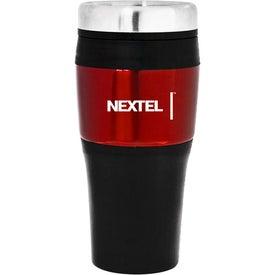 Personalized Banded Travel Mug