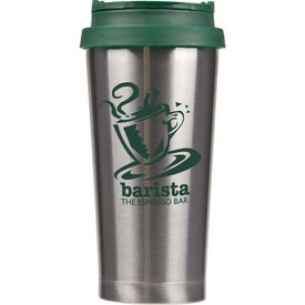 Barista Double Wall Stainless Tumbler with Your Slogan