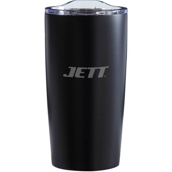 Black Big Foot Stainless Steel Vacuum Tumbler
