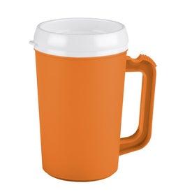 Monogrammed Big Bogie Insulated Travel Mug