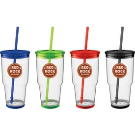 Biggie Tumbler with Straw (24 Oz.)
