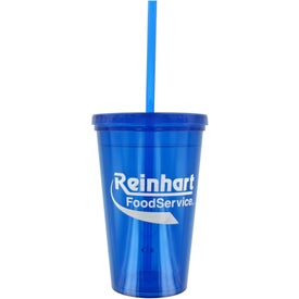 Double Wall Green Tumbler for Your Church