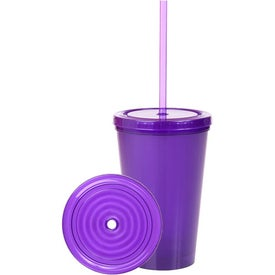 Double Wall Bio D Plastic Tumbler with Your Logo