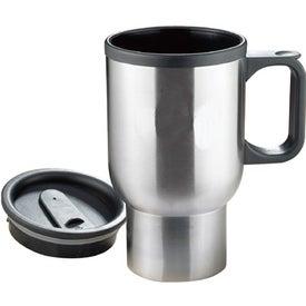Monogrammed Bishop Stainless Travel Mug