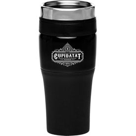 Black Acrylic Color Accent Tumbler (16 Oz.)