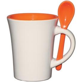 Blanco Spooner Mug for Advertising