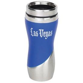 Blender Traveler Mug with Your Slogan