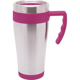 Promotional Blue Bullet Stainless Steel Mug