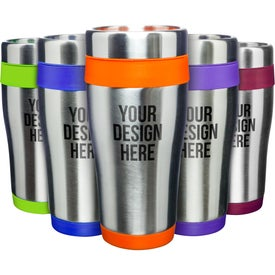 Blue Monday Travel Tumbler (16 Oz.)