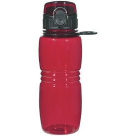 Bottle with Pop Up Lid for Your Company