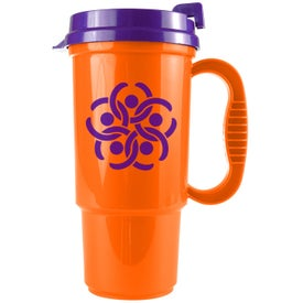 Branded Bright Colors Auto Mug
