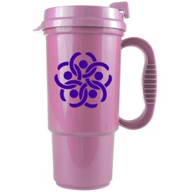 Bright Colors Auto Mug Printed with Your Logo