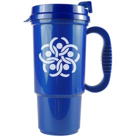 Bright Colors Auto Mug Imprinted with Your Logo