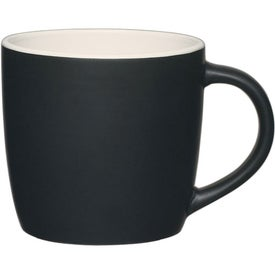 Monogrammed Cafe Mug