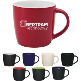 Cafe Mug (12 Oz., Colors)