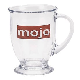 Clear Cafe Mug (16 Oz.)