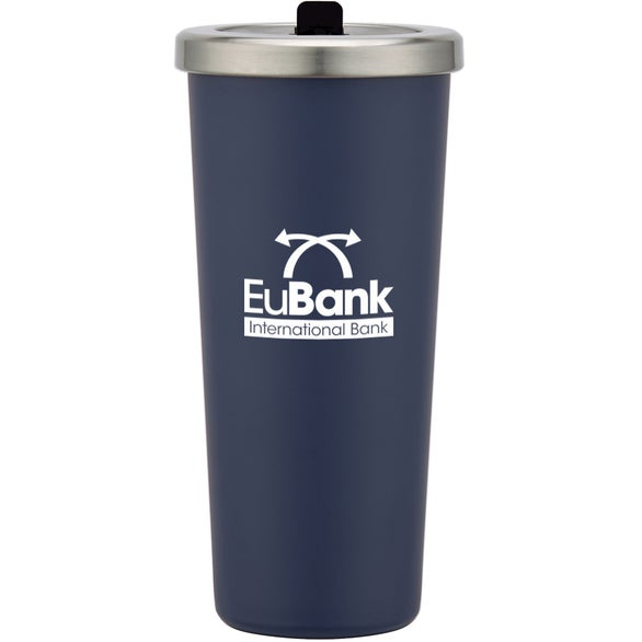 Blue Camden Stainless Steel Tumbler