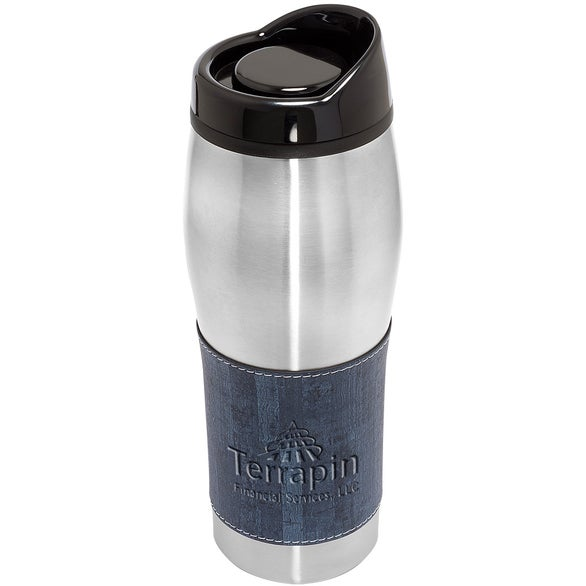 Stainless Steel / Blue Casablanca Tumbler