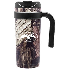 Cayman Stainless Steel Mug (16 Oz., Mossy Oak Camouflage)