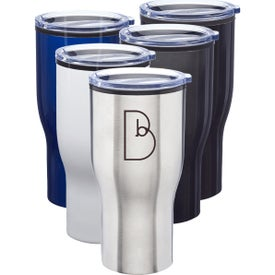Challenger Stainless Steel Travel Mugs (28 Oz.)