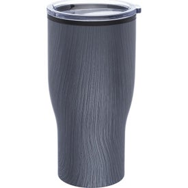 Challenger Travel Mug with Wood Finish (28 Oz.)