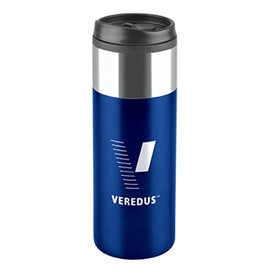 Chrome Top Slim Travel Tumbler for Your Organization