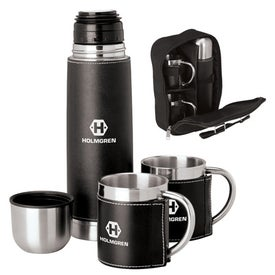 Cinna I Steel Flask and Cup Set