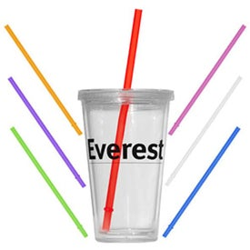 Clear Value Double Wall Tumbler (16 Oz.)