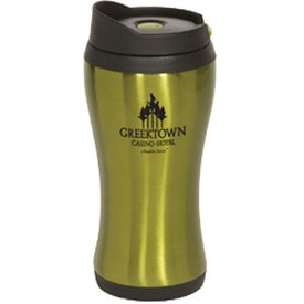 Click 'N Sip Stainless Tumbler with Your Slogan