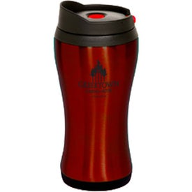 Branded Click 'N Sip Stainless Tumbler