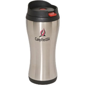 Click 'N Sip Stainless Tumbler (16 Oz.)