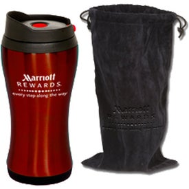 Personalized Click 'n Sip Tumbler with Pouch