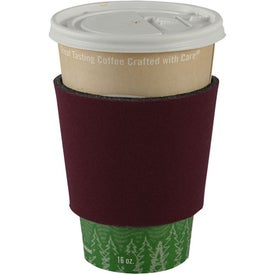 Coffee Cup Insulator with Your Slogan