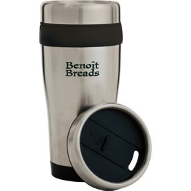 Color Band Travel Tumbler (14 Oz.)