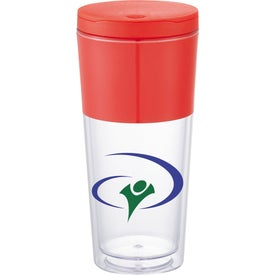 Personalized Color Band Tumbler